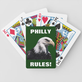 PHILLY RULES! BICYCLE PLAYING CARDS