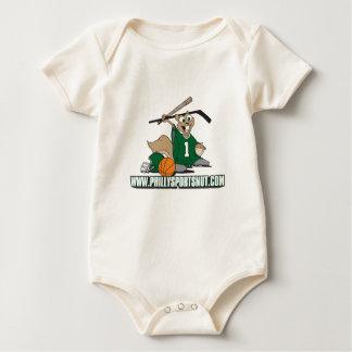 Philly se divierte la nuez body para bebé