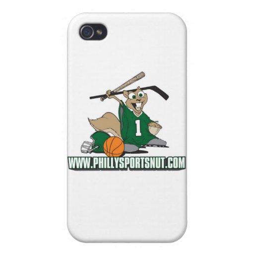 Philly se divierte la nuez iPhone 4/4S fundas