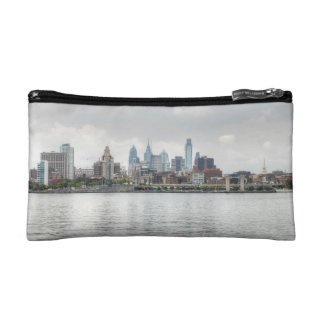 Philly skyline 2 cosmetic bag