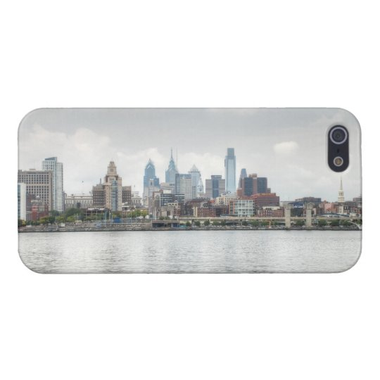 Philly skyline 2 iPhone SE/5/5s case