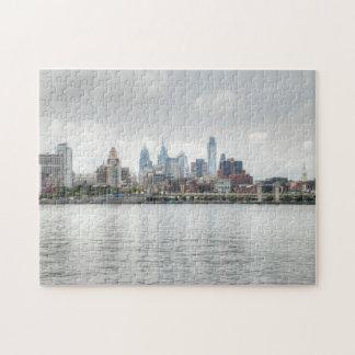 Philly skyline 2 jigsaw puzzle