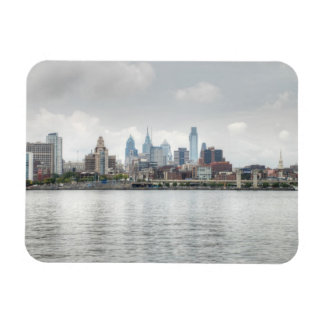 Philly skyline 2 magnet