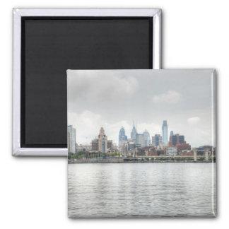Philly skyline 2 magnet