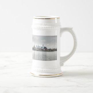Philly skyline 2 coffee mugs