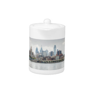 Philly skyline 2 teapot