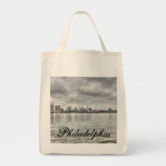 Philly skyline canvas bag