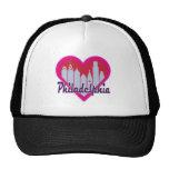 Philly Skyline Heart Trucker Hat