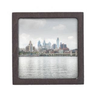 Philly skyline jewelry box