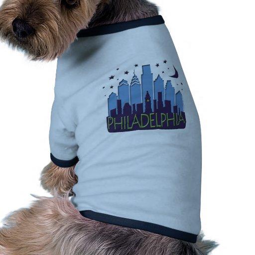Philly Skyline mega cool Doggie Shirt