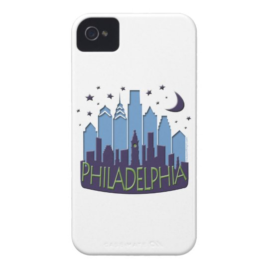 Philly Skyline mega cool iPhone 4 Case