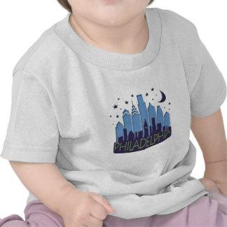 Philly Skyline mega cool Shirts
