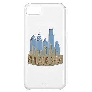Philly Skyline newwave beachy iPhone 5C Cases