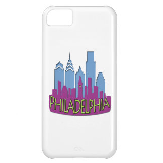Philly Skyline newwave cool Cover For iPhone 5C