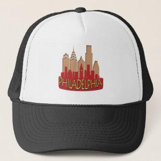 Philly Skyline newwave hot Trucker Hat