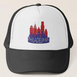 Philly Skyline newwave patriot Trucker Hat