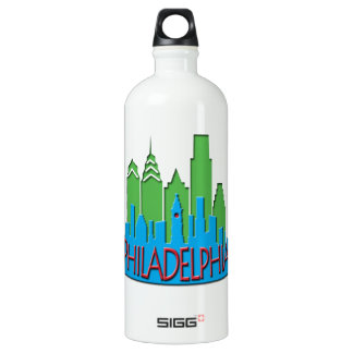 Philly Skyline newwave primary SIGG Traveler 1.0L Water Bottle