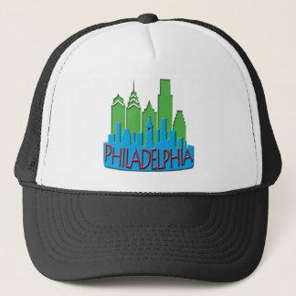 Philly Skyline newwave primary Trucker Hat