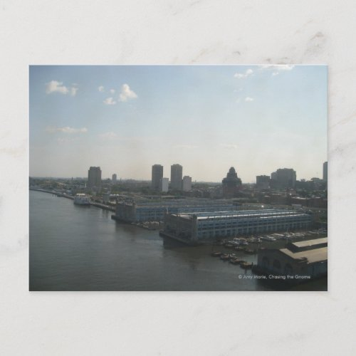 Philly Skyline postcard