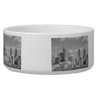 Philly skyscrapers black and white bowl
