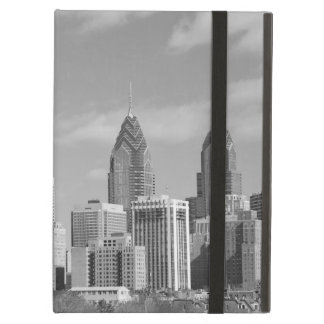 Philly skyscrapers black and white cover for iPad air
