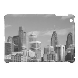 Philly skyscrapers black and white cover for the iPad mini