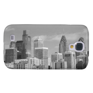 Philly skyscrapers black and white galaxy s4 cover