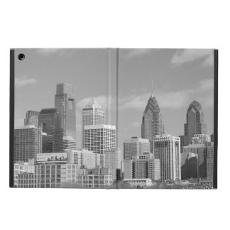 Philly skyscrapers black and white iPad air case