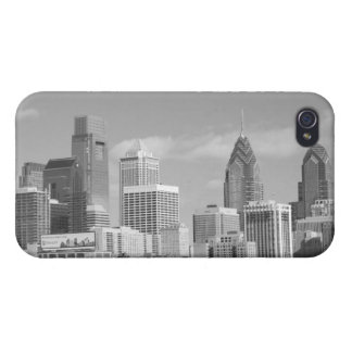 Philly skyscrapers black and white iPhone 4/4S cases