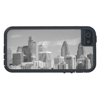 Philly skyscrapers black and white iPhone SE/5/5s case