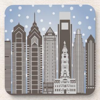 Philly Snowflakes Coaster
