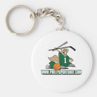 Philly Sports Nut Basic Round Button Keychain