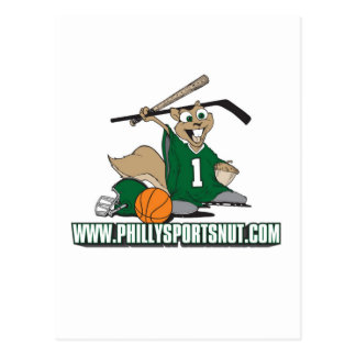 Philly Sports Nut Postcard