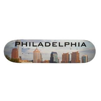 Philly summer skateboard deck