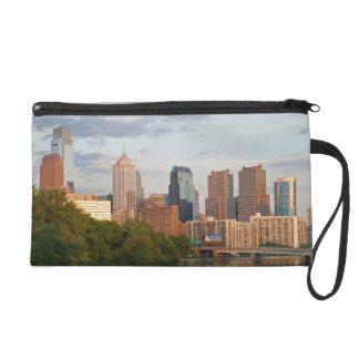 Philly summer wristlet purse