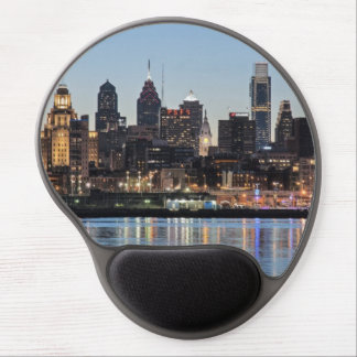 Philly sunset gel mouse pad