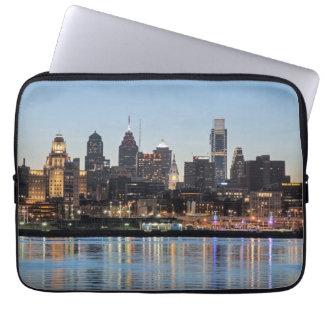 Philly sunset laptop sleeve