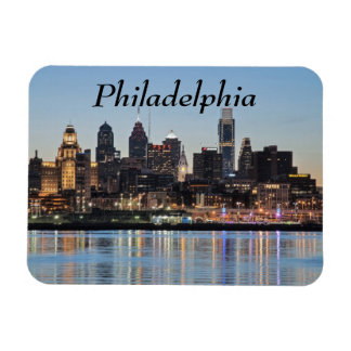 Philly sunset magnet