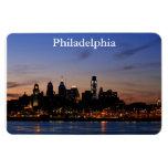 Philly Sunset Skyline Premium Magnet