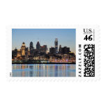 Philly sunset stamps