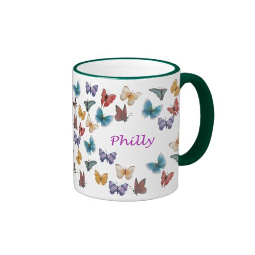 Philly Taza A Dos Colores