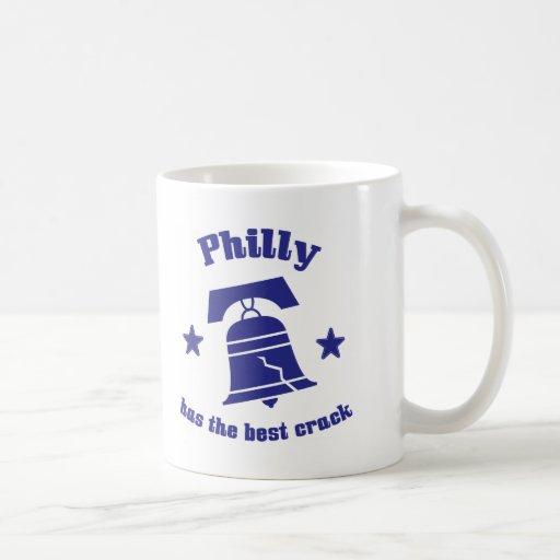 Philly tiene la mejor grieta tazas de café