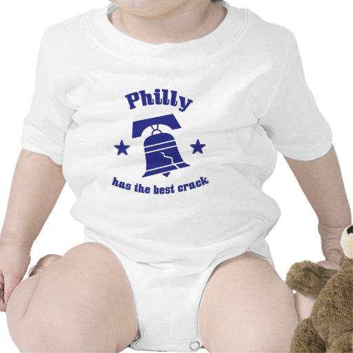 Philly tiene la mejor grieta traje de bebé
