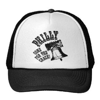 ¡Philly - venido para la grieta! Gorras De Camionero