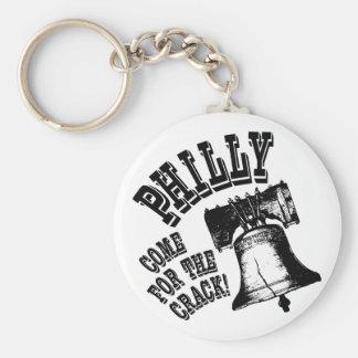¡Philly - venido para la grieta! Llavero Redondo Tipo Pin
