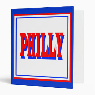 Philly White Square Binder