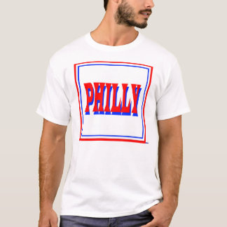 Philly White Square T-Shirt