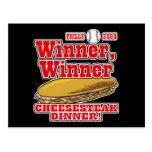 Philly Winner Cheesesteak Dinner Postcard