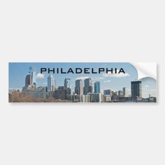 Philly winter bumper sticker