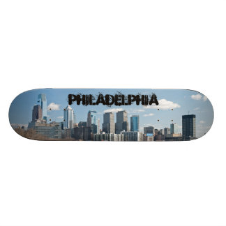 Philly winter skateboard deck
